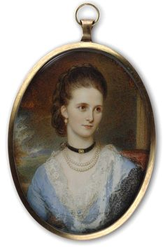 Lucy Marion Hardy of Dunstall Hall  by Reginald in 1875