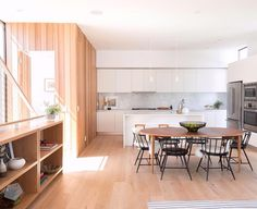 Based in East L.A. lifestyle interior and portrait photographer @some.moore shared this shot she took of the Habitat 6 residences in Los Feliz California. Designed by @rchstudios this small-lot development that opened in October 2016 includes six modern homes that were designed for singles families looking for a better type of urban living. The two-bedroom homes are inspired by Scandinavian design and feature a neutral palette consisting of natural woods marble steel and glass. To submit…
