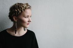 EARRINGS by Uhana Design.  #uhanadesign #finnishdesign #pisarakorvikset #weecos   www.weecos.com/fi/stores/uhana-design