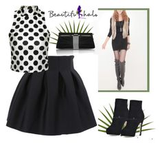 """Beautifulhalo 5"" by elma-993 ❤ liked on Polyvore featuring мода и bhalo"