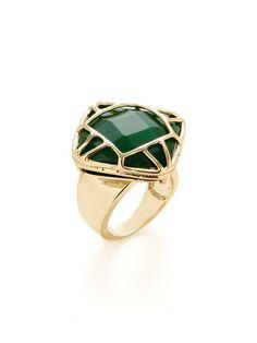 Paulina Cat's Eye Ring by Kendra Scott Jewelry at Gilt
