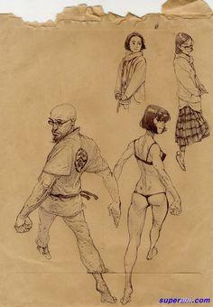 kim jung gi ✤ || CHARACTER DESIGN REFERENCES | キャラクターデザイン | çizgi film • Find more at https://www.facebook.com/CharacterDesignReferences & http://www.pinterest.com/characterdesigh if you're looking for: #grinisti #komiks #banda #desenhada #komik #nakakatawa #dessin #anime #komisch #manga #bande #dessinee #BD #historieta #sketch #strip #fumetto #settei #fumetti #manhwa #koominen #cartoni #animati #comic #komikus #komikss #cartoon || ✤