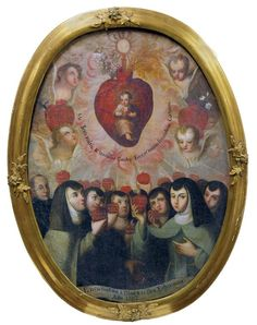 Painting, Ex-voto, Spanish Colonial