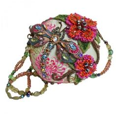 Mary Frances Handbag - LOVE the dragonfly!