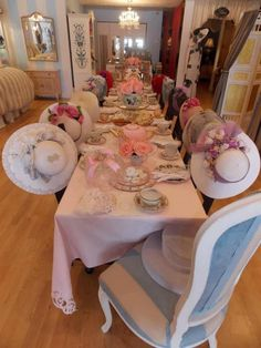 Just an idea... How about providing a tea party area for baby showers, girls night out, bridal showers or for just because?