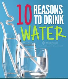 10 Reasons To Drink More Water         #healthtips #health http://www.genetichealthplan.com/