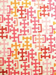 SINCLAIR POPPY fabric