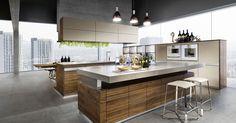Cucine moderne in legno 2017 - Cucina in legno naturale