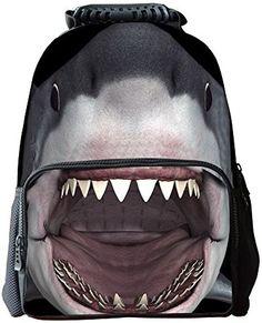 Travel Luggage Duffle Bag Lightweight Portable Handbag Animals Underwater Shark Print Large Capacity Waterproof Foldable Storage Tote