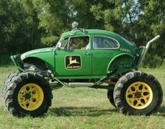 John Deere VW Bug