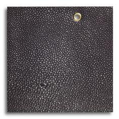 Edelman Leather Shagreen City Lights in Black, SH108CL