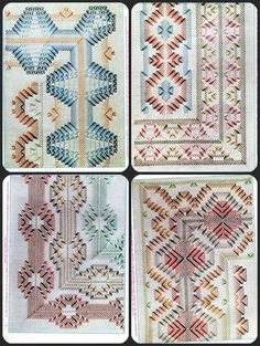 bordado bargello sobre esterilla patrones - Ask.com Image Search