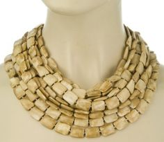 Iris Apfel Collection Greywood 8 Strand Necklace