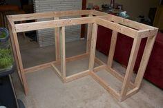 Home Bar Build - framework