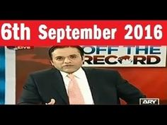 Off The Record with Kashif Abbasi 6 August 2016 Altaf Hussain HATE Speec...