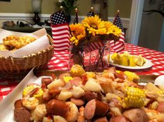 Low Country Boil Party Favors | made some Red Lobster Cheddar Cheese Bay Biscuits to go with our ...