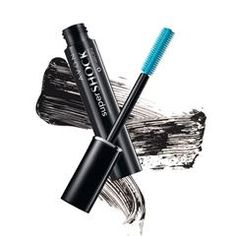 SuperShock Mascara in Black- Thickening base coat and volumizing mascara in one. Up to 12X more volume. .35 oz. net wt.  Order online at http://agomez.avonrepresentative.com