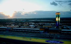 Sunrise at Homestead Miami Speedway