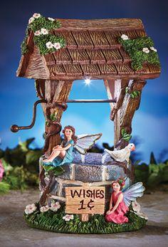 Fairy Wishing Well Garden Decoration