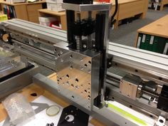 I am fortunateenough to have industrialCNC machinery at my disposal, so it was an obvious choice to machine all of the mechanical parts for this machine myself. This blog post gives a brief overv…