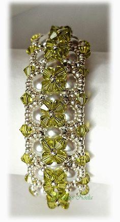 Crystal & Pearl Bead Bracelet