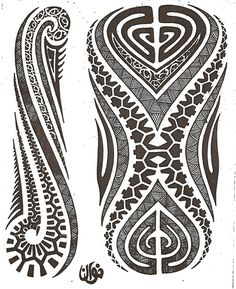 Maori tattoo kirituhi Polinesia Polynesian Tatuaje | Flickr - Photo Sharing!