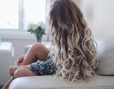 Ombre curls by Alex Centomo
