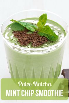 With the flavorful notes of vanilla, coconut, and peppermint, this dairy-free paleo matcha mint chip smoothie will quickly become one of your favorites!  http://epicmatcha.com/paleo-matcha-mint-chip-smoothie/?utm_source=pinterest&utm_medium=pin&utm_campaign=social-organic&utm_term=pinterest-followers&utm_content=blog-matcha-mint-chip-smoothie