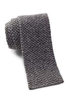 Marled Knit Tie