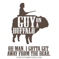 aaf1e028 25 Best ''Guy On A Buffalo