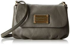 Marc by Marc Jacobs Classic Q Flap Percy Cross Body Bag, Faded Aluminum, One Size Marc by Marc Jacobs http://www.amazon.com/dp/B00MXX2Z7S/ref=cm_sw_r_pi_dp_K6Kwub15DHDM7