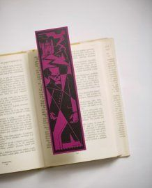 Frankenstein by Bookmarklovers on Etsy Classic Literature, Frankenstein, Bookmarks, Unique Jewelry, Handmade Gifts, Etsy, Vintage, Kid Craft Gifts, Marque Page