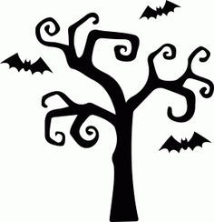 halloween tree silhouettes - Google Search