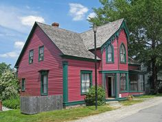 Renova Cottage, built about 1850, belonged to S.M. Cumminger in 1871 and later, to Dr. Densmore. M.D., who practiced here until 1919. Sherbrooke Village depicts a typical Nova Scotian village from 1860 to pre-WW1. With approximately 80 buildings, over 25 of those open to the public, most with costumed interpreters, it is the largest Nova Scotia Museum site. Visit the working woodturner shop, blacksmith, pottery shop, and printery. Built on an economy of ship building, lumbering and gold… Pottery Shop, Site Visit, Nova Scotia, Landscape Photos, Blacksmithing, Buildings, Public, Museum, Cottage