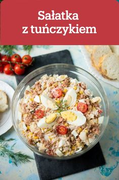 Polish Recipes, Tzatziki, Pasta Salad, Family Meals, Acai Bowl, Potato Salad, Vegetarian Recipes, Oatmeal, Dinner Recipes