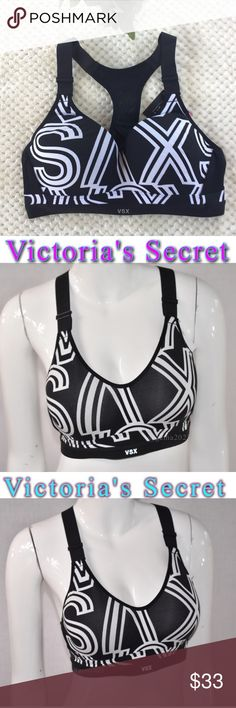 NEW!Victoria's Secret Incredible Sport Bra 36C NEW with tag  Incredible Sport bra maximum support  ❤️Cushioned , Ajustable back closure is re-engineering for easier back closure on & off. ❤️Adjustable straps  ❤️Cushioned flexible underwire.Lighter, more Breathable padding .Body-Wick keeps you cool & d Victoria's Secret Intimates & Sleepwear Bras