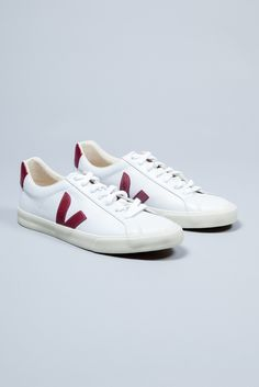 The mission of Danish brand, Veja, is to create a supply chain in the manufacture of their products that respects both humans and the environment. The designers work with all natural materials, including tapping rubber from trees without the use of industrial processes and buying cotton from organic farmers in Brazil to weave canvas for the brand's footwear collections. Sustainability and trading fairly is at the heart of the brand's philosophy.