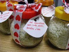 DELICIAS CÁ DE CASA: mais uma prendinha para o cabaz de Natal: sal aromatizado
