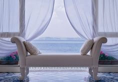 A five-star, seafront Ischia hotel, with breakfast, a welcome drink, spa access and a treatment discount