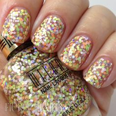 **Milani - Sugar Rush (Gold Label Specialty Nail Lacquer Collection Spring 2014) / FierceMakeupAndNails