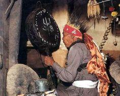 Tamang shaman, Kalché, Central Nepal, 1995