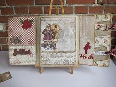 Berits store julebog - publisert i The Paper Crafting oktober 2014: http://thepapercrafting.com/berits-store-julebok/