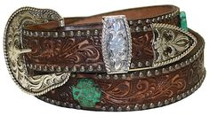 Oh how I would adore this Double J Saddlery belt......