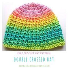 Double Crossed Hat - A Free Crochet Pattern in 11 Sizes