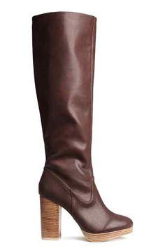 Botas hasta la rodilla  H&M