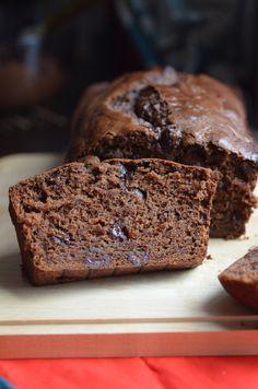 Vegan Double Chocolate Banana Bread