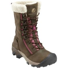 Keen Hoodoo High Lace Boots (Women's) - Mountain Equipment Co-op. Free Shipping Available - I think I will need these this winter, to replace my old completely worn out ones!
