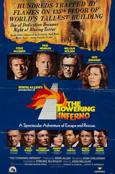 """""""Did you leave a cigarette burning?"""" -The Towering Inferno, 1974"""