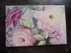 Roses forever | ARTchat - Porcelain Art Plus (formerly Chatty Teachers & Artists)  June Watson Artist