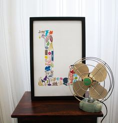 L is for... (11 x 17 Letter L Poster)